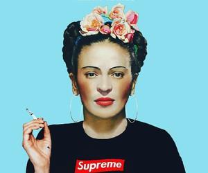 art, Frida Khalo, and supreme image