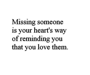 lonely, missing, and quote image