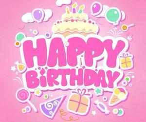 birthday, happy birthday, and happy image