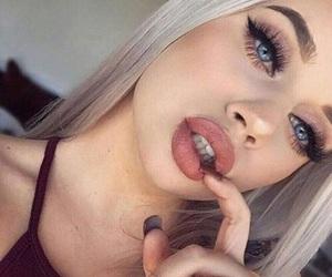 eyes, hair, and nail image