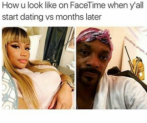 lol, nicki minaj, and facetime image