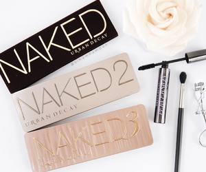 naked, urban decay, and make up image