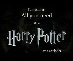 harry potter, Marathon, and movies image