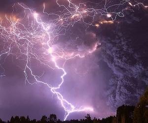 sky, lightning, and storm image