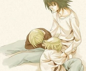 anime, death note, and mello image