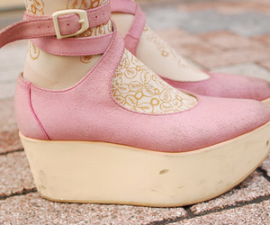 beautiful, pink, and shoes image