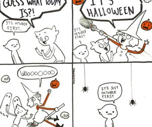 fall, Halloween, and spooky image