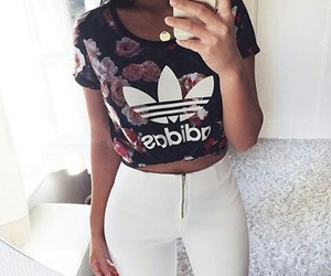 adidas, outfit, and vintage image