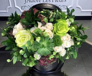 Detalles, verde, and flores image