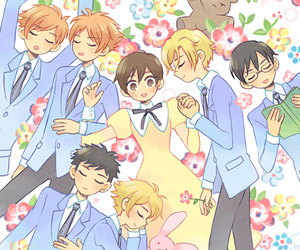 anime, ouran host club, and ouran image