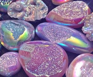 pink, glitter, and crystal image