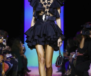 catwalk, elie saab, and pfw image