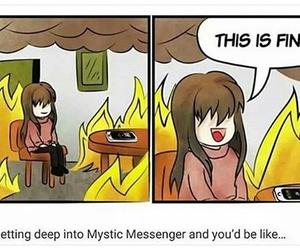 mystic messenger image