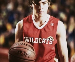 zac efron, high school musical, and troy bolton image