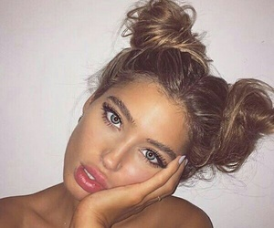 aesthetic, hair style, and pretty girl image