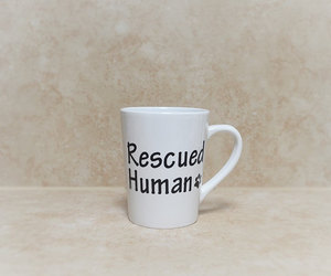 etsy, rescued, and quote coffee mug image