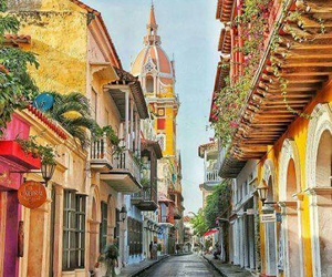 places, travel, and colombia image