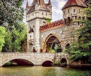 beautiful, budapest, and castle image