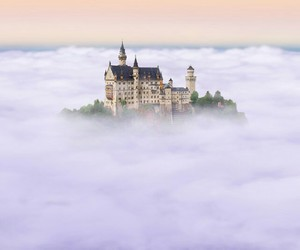 castle and clouds image