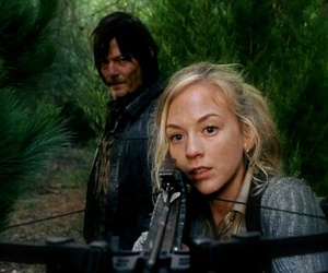 the walking dead, daryl dixon, and beth greene image