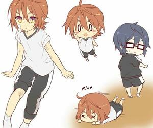 misaki, saruhiko x misaki, and sarumi image