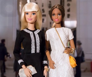 barbies, friend, and WITH image