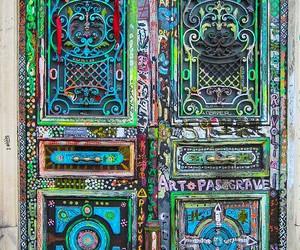 beautiful, invitation, and doors image
