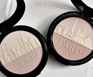 makeup, paris, and new york image