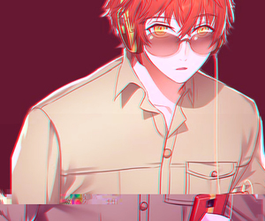 mystic messenger, 707, and seven image