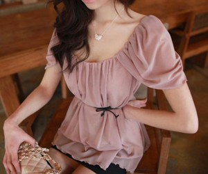 beautiful, blouse, and photography image