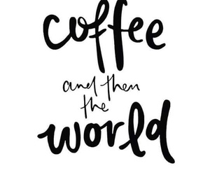 coffee and world image
