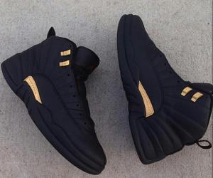 shoes, jordan, and black image