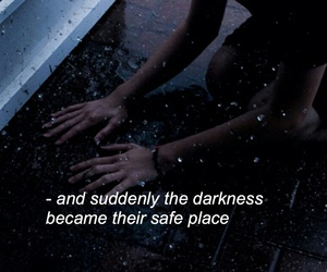 quotes, dark, and sad image