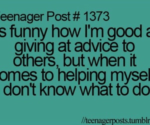 teenager post, true, and quote image