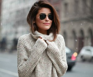 fashion, sweater, and glamour image