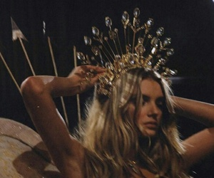 model, crown, and Queen image