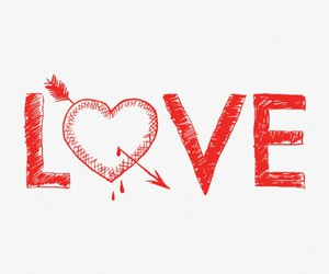 love and heart image