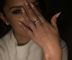 girl, nails, and beauty image