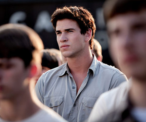 gale, the hunger games, and hunger games image