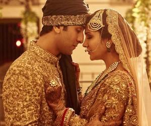 bollywood, ranbir kapoor, and couple image