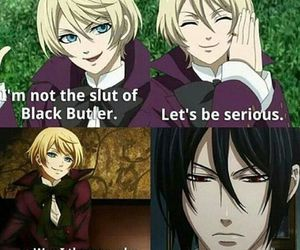 black butler and anime image