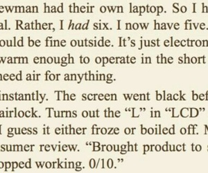 book, mark watney, and funny image