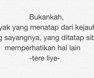 quotes, indonesian, and tere liye image