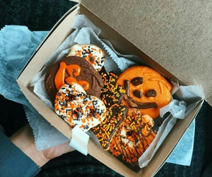 food and Halloween image