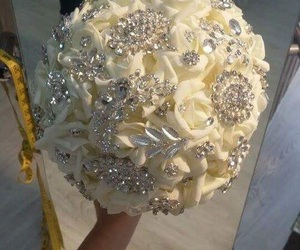 bouquet, wedding, and cute image