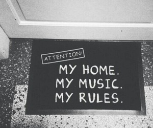 music, rules, and home image