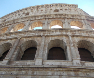 italy, colosseum, and rome image