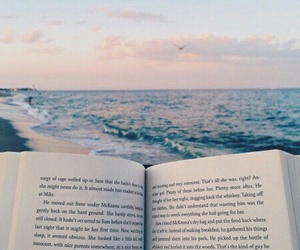 book, books, and ocean image