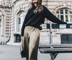 blogger, fashion, and skirt image