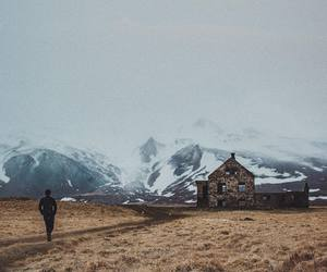 iceland, mountains, and passenger image